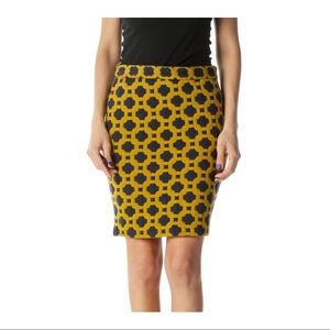 Anthropology Charlie and Robin pencil skirt
